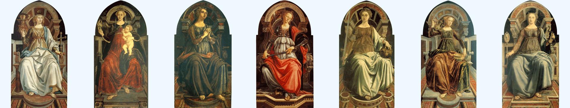 Le sette virtu, Piero del Pollaiolo