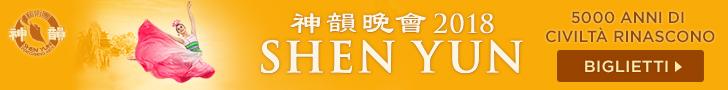 Shen Yun 2018 | Roma, Firenze, Milano | Da aprile a marzo