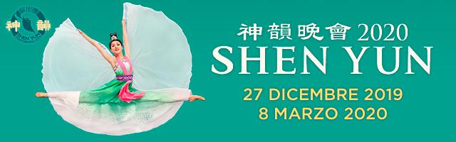 Shen Yun 2020 | Firenze, Napoli, Genova, Milano | Da dicembre a marzo